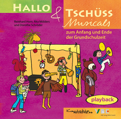 Hallo & Tschüss Musicals (Playback-CD)