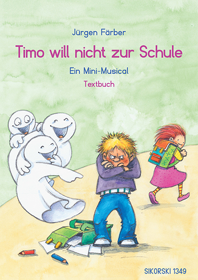 Timo will nicht zur Schule Textbuch-Cover